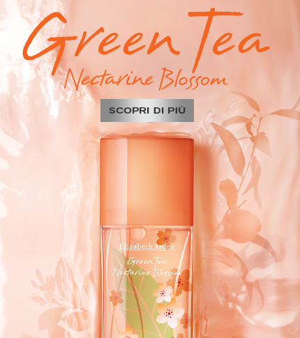 Green Tea Nectarine Blossom Eau de Toilette Spray - Elizabeth Arden Italy Fragranze