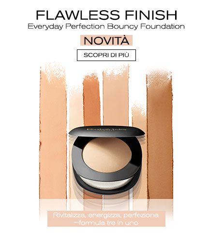 Flawless Finish Everyday Perfection Bouncy Foundation - Elizabeth Arden Italia Makeup